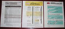 1968 69 70 71 72 73-77 ANCO Wiper Arms_Blades Specs Application Catalog 3vol SET