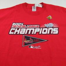 Nwt Vintage 2004 St. Louis Cardinals T Shirt National League Champions Baseball