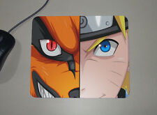 Naruto Shippuden - Uzumaki Naruto - Nine Tails Fox Form - Custom Name Mouse Pad