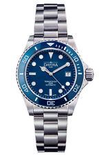 "New DAVOSA Swiss ""Ternos Professional Diver"" automatic watch ""Dark Blue"""