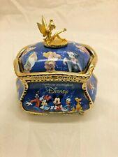Bradford Exchange Ultimate Disney Heirloom Porcelain Music Box Broken