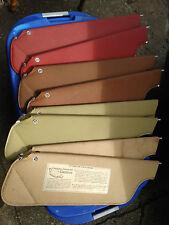 1971-1976 Cadillac DeVille Fleetwood Eldorado Visor Sets - Various Colors - VGC