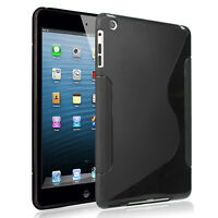 Case for iPad Mini/Air Flexible Soft S TPU Case Shockproof Anti Slip Back Case