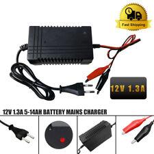 Caricabatterie Mantenitore Batteria 12V 1.3A 4-14Ah Con Cavetti Per Auto e Moto