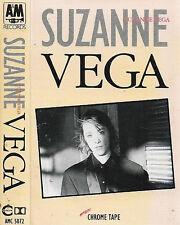 Suzanne Vega Suzanne Vega CASSETTE ALBUM Acoustic Indie Rock, Clear Shell,