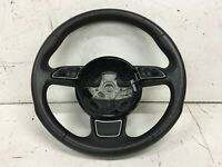 AUDI A3 8V 2013-17 3 SPOKE MULTIFUNCTION BLACK STEERING WHEEL 8V0419091A