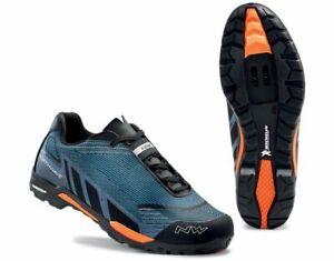 Northwave Outcross Knit MTB / Mountain Bike Shoes Size EU 43 / UK 9.5 Blue