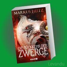 DIE RÜCKKEHR DER ZWERGE 1   MARKUS HEITZ   Roman - Fantasy-Saga - Band 6.1