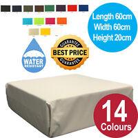 Garden Foam Slab Cushion Pad Waterproof Outdoor Indoor Cushions Seat Furniture
