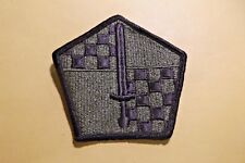 Military Entrance Processing Command Patch Subdued Insignia Unit US Army #707