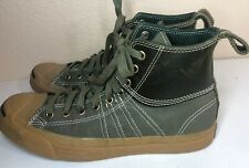 Converse JP Jack Purcell Duck Boot Mid Top Grape Leaf Mens Size 8 Women's 9.5