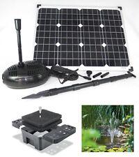 60 Watt Solar Teich Tauch Pumpe Gartenteich Gartenpumpe Bachlauf Springbrunnen *