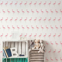 Flamingo Pattern Stencil - Tropical Bird Pattern Wall Stencil / Template