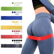 Resistance Bands Set Lower Upper Body Booty Exercise Strength Stretch Therapy