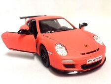 "Porsche 911 GT3 RS, 5"" Diecast 1:32 ,Pull Back Action To Go,Toys Boy Girl Orange"