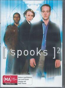 SPOOKS Season Two 2 (5 x DVD) NEW & SEALED Free Post