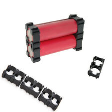 20pcs 18650 Battery Safety Spacer Radiating Shell Plastic Double Bracket Holder
