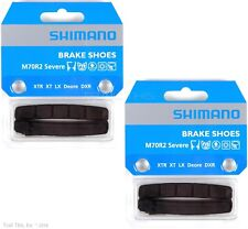 Two (2) Pack Shimano M70R2 Severe Condition V-Brake Pads fit XTR XT LX Deore DXR