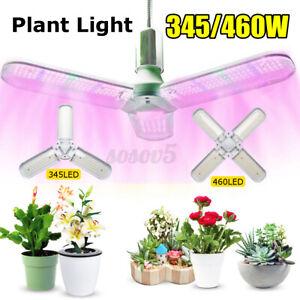 345/460W LED Grow Light Indoor Full Spectrum Plant Growing Hydroponic Lamp Q