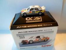 Herpa Modellauto 1:87 3523  AMG Mercedes-Benz 190E ONS Dekra 77 Fritz K. OVP-PV