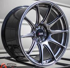XXR 527 18X8.75 5x100/114.3 +20 Chromium Black Wheels Fits Tc Xb Rx8 Speed 3 Rsx