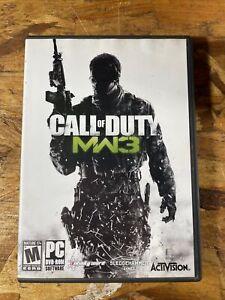 Call Of Duty Modern Warfare 3 PC Game DVD-ROM 2011