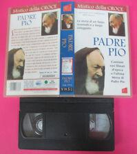 VHS film PADRE PIO Mistico della croce 1999 AVO FILM 3733 (F100) no dvd