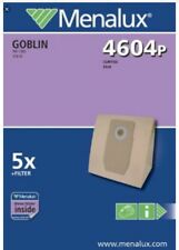Menalux 4604P vac bags - suit Goblin Rio 1000, 310.10/Curtis Buggy 001/ FAM 3101
