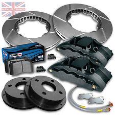 """Citroen C2 17"""" Front Brake Kit – 6 Pot Calipers [Pro Race 6] 330MM X 32MM Rotors"""