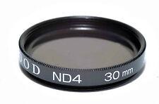 Kood ND4 2 Deténgase Filtro de densidad neutra Hecho en Japón 30mm