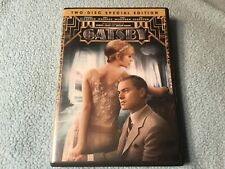 The Great Gatsby (DVD, 2013, 2-Disc Set, Special Edition)