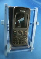 Nokia 101 Handy Schwarz ohne: Akku, Ladegerät, Akku Deckel Display gebrochen