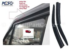A PAIR OF BRAND NEW O.E WIND RAIN SMOKE DEFLECTOR FORD TRANSIT CUSTOM 2012 ON