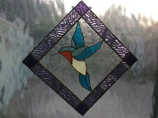 Stained glass tools Humming Bird pre-cut reusable pattern n