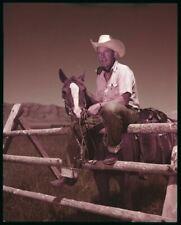 Bing Crosby En Ouest Vêtements Par Cheval Vintage Rare Original 5x4 Transparence