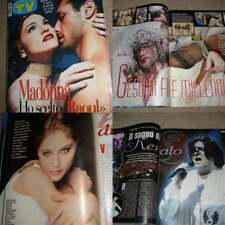 Italian TV Guide Italia MADONNA 1999 Naike RIVELLI
