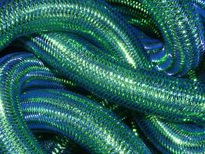 ROYAL BLUE WITH EMERALD GREEN TUBULAR CRIN CYBERLOX
