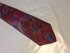 Mens Red Blue Purple Tie Necktie ESSEX ROW~ FREE US SHIP (10221)