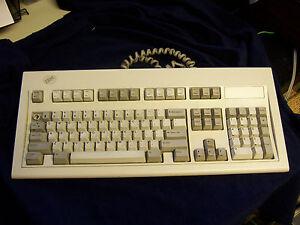 IBM INFOWINDOW KEYBOARD 1394204 5062267 F7 MODEL M modular plug RJ45 clicky keys