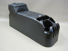 P71 Black Center Console Crown Victoria Police with Tip Up Upholstered Armrest