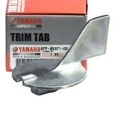 Genuine Yamaha Trim Tab Anode - 50 to 100hp - 67F-45371-00
