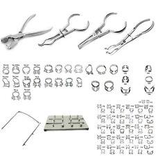 Rubber Dam Dental Instruments Kit Brinker Clamps Punch Forceps Frame Endodontics