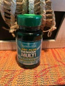 Puritan's Pride ABC Plus® Senior Multivitamin Multi-Mineral Formula with Zinc 30