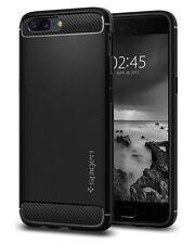 OnePlus 5 Case, SPIGEN Rugged Armor Series Case - Black