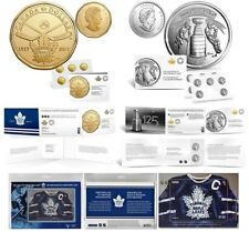 Toronto Maple Leafs 100th Anniversay Coin Pack & Stamp with Stanley Cup Coin Pck