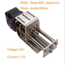 Mini Cnc Z Axis Slide 3 Axis Engraver Machine Diy Milling Linear 60mm Motion