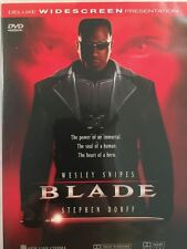 Blade - Deluxe Widescreen Edition (1998) Wesley Snipes Region 4 LIKE NEW