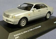 Nissan Gloria Ultima-z V Package 2001 Platinum Silver 1:43 Model J-COLLECTION