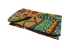2.5 Yard Hand Block Print Handmade Cotton Indian Natural Sanganeri Print Fabric.
