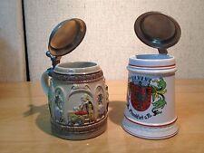 2  Cool Vintage German Beer Steins
